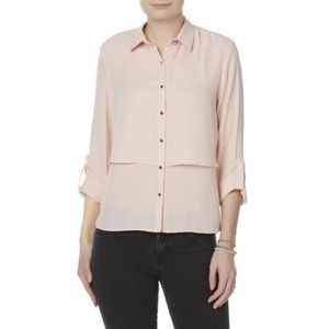Simply Styled Women's Tiered Blouse